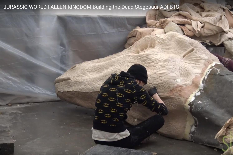 Jurassic World Fallen Kingdom, 2017  Shop Supervisor: Yuri Everson  Fabrication Supervisor: Jon K. Miller  Amalgamated Dynamics Inc.
