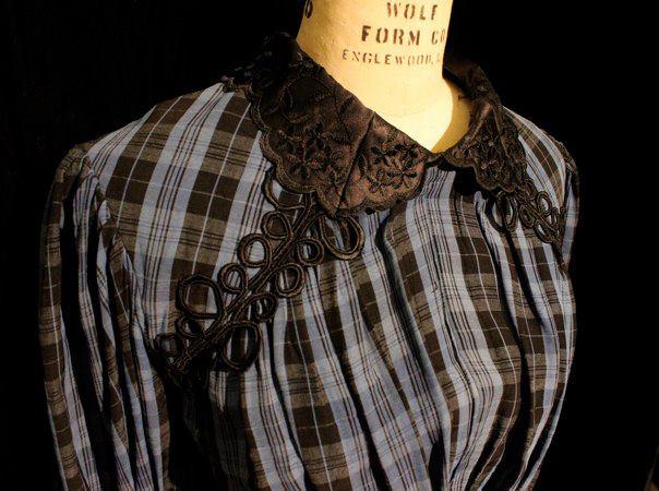 Spring Awakening, 2012 San Francisco State University Director: Barbara Damashek  Designer: Myself  Close up of collar detail