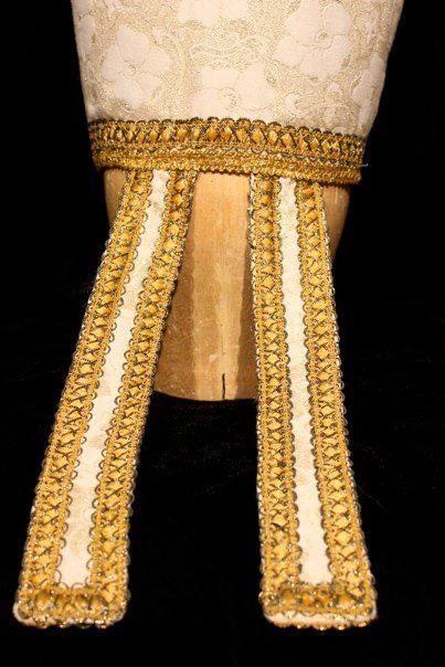 Henry IV, 2009 San Francisco State University Director: Mohammad Kowsar Designer: Courtney Flores  Back detail of miter