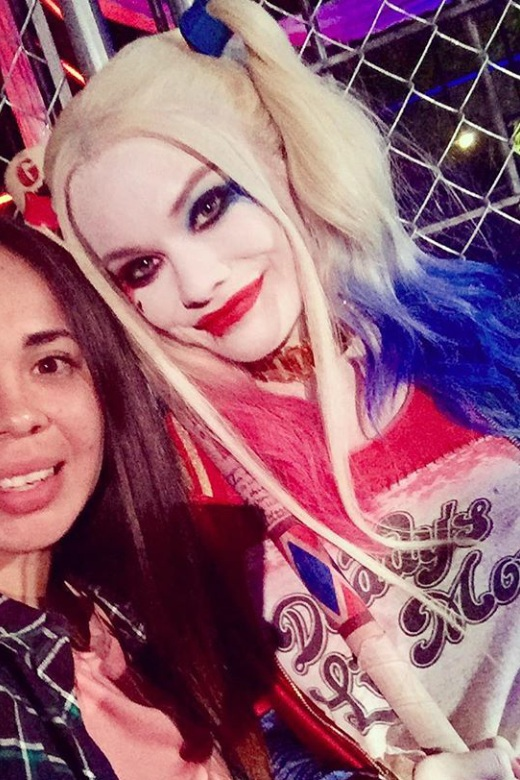 Fright Fest, 2016 Six Flags Magic Mountain  Actress: Bailey Winston    Lace front human hair wig, styled into pig tails and colored with Skin Illustrator