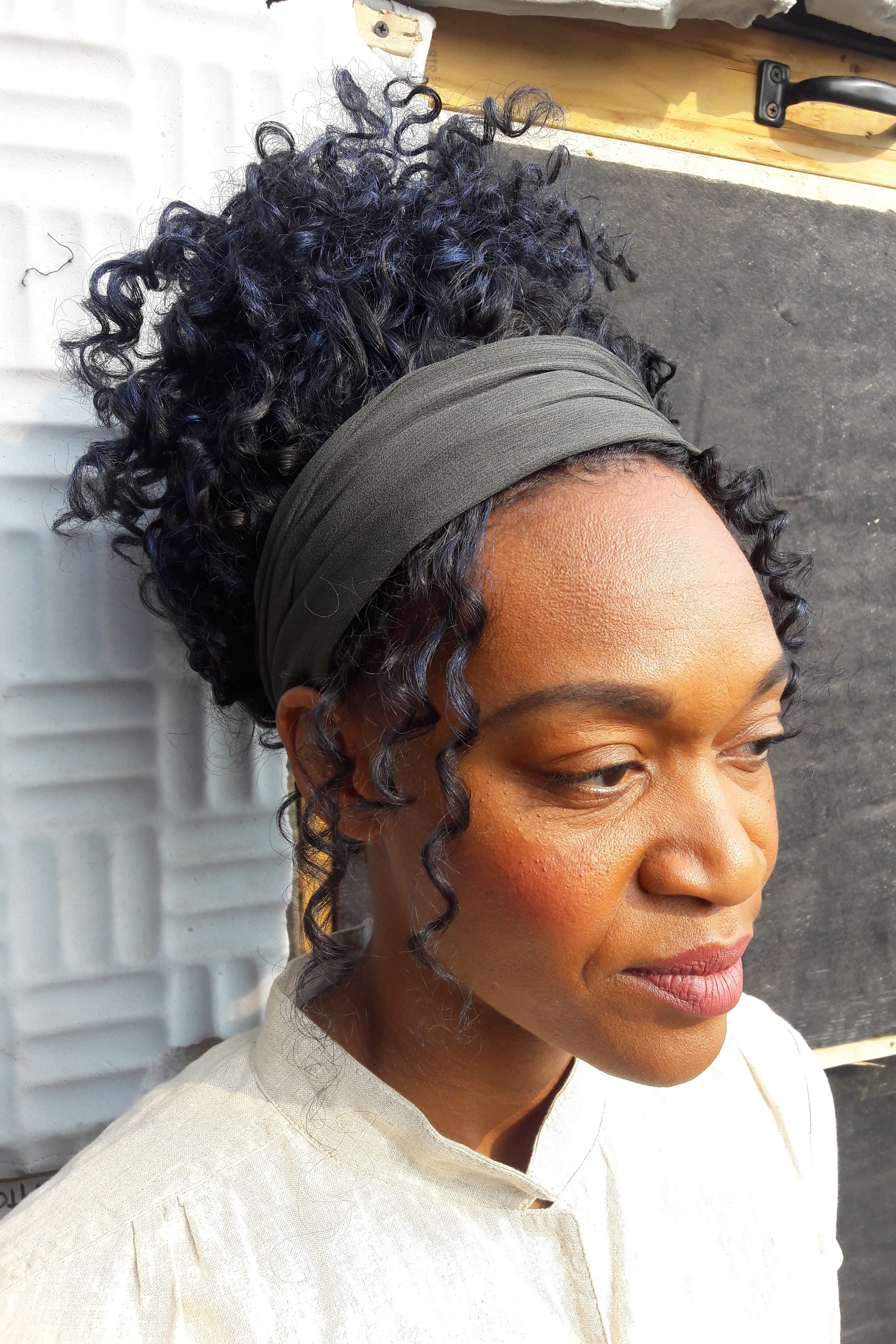 Bea's Bakery, 2017  Actress: Jessica Hayes  Synthetic Lace Front, styled and colored  with Skin Illustrator