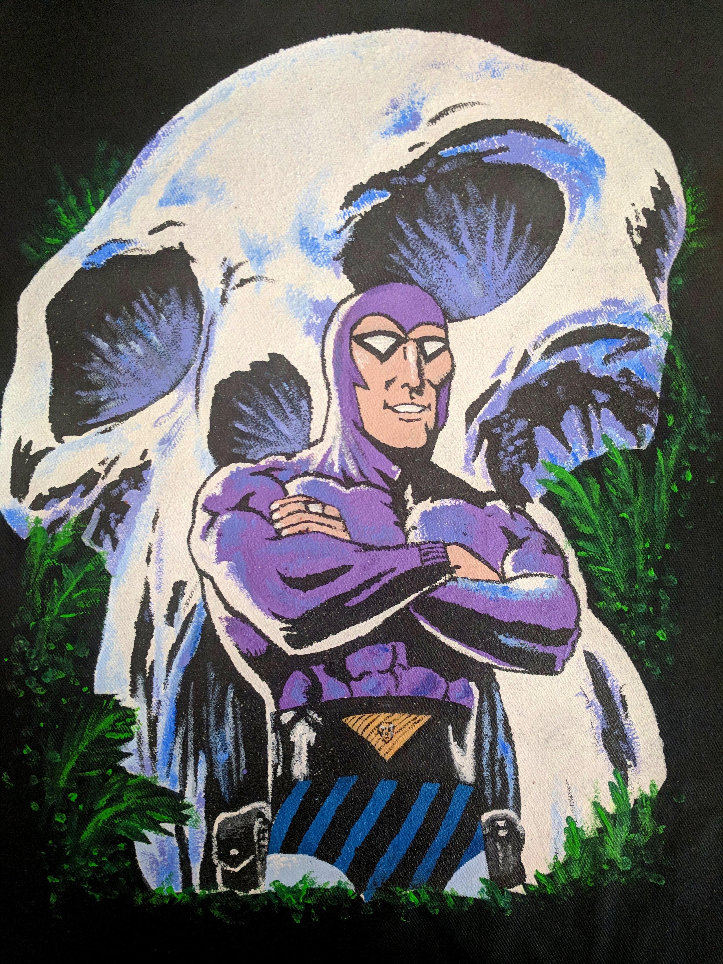 The Phantom, 2018  Acrylic  on canvas apron