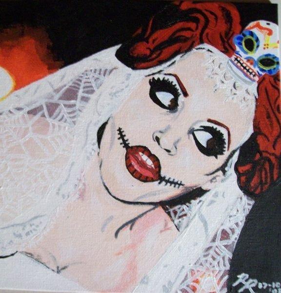 Ritt-ah, 2008  Acrylic on canvas board