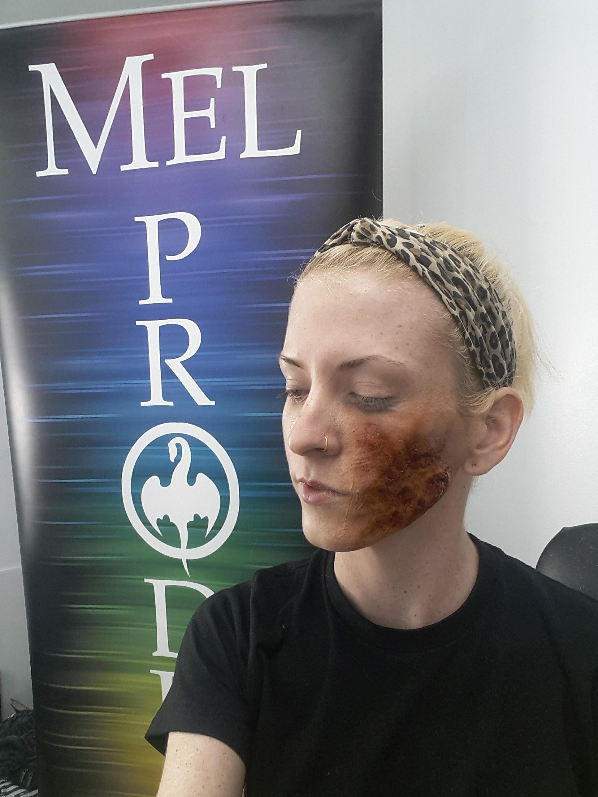 Mel Products Demo,2016  Makeup Artist: Trista Metz