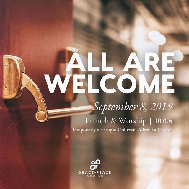 Spread the word friends! My husband is lead pastor for a new church launching this Sunday in Ooltewah, TN. More info available on church website. www.gracepeacechurch.org