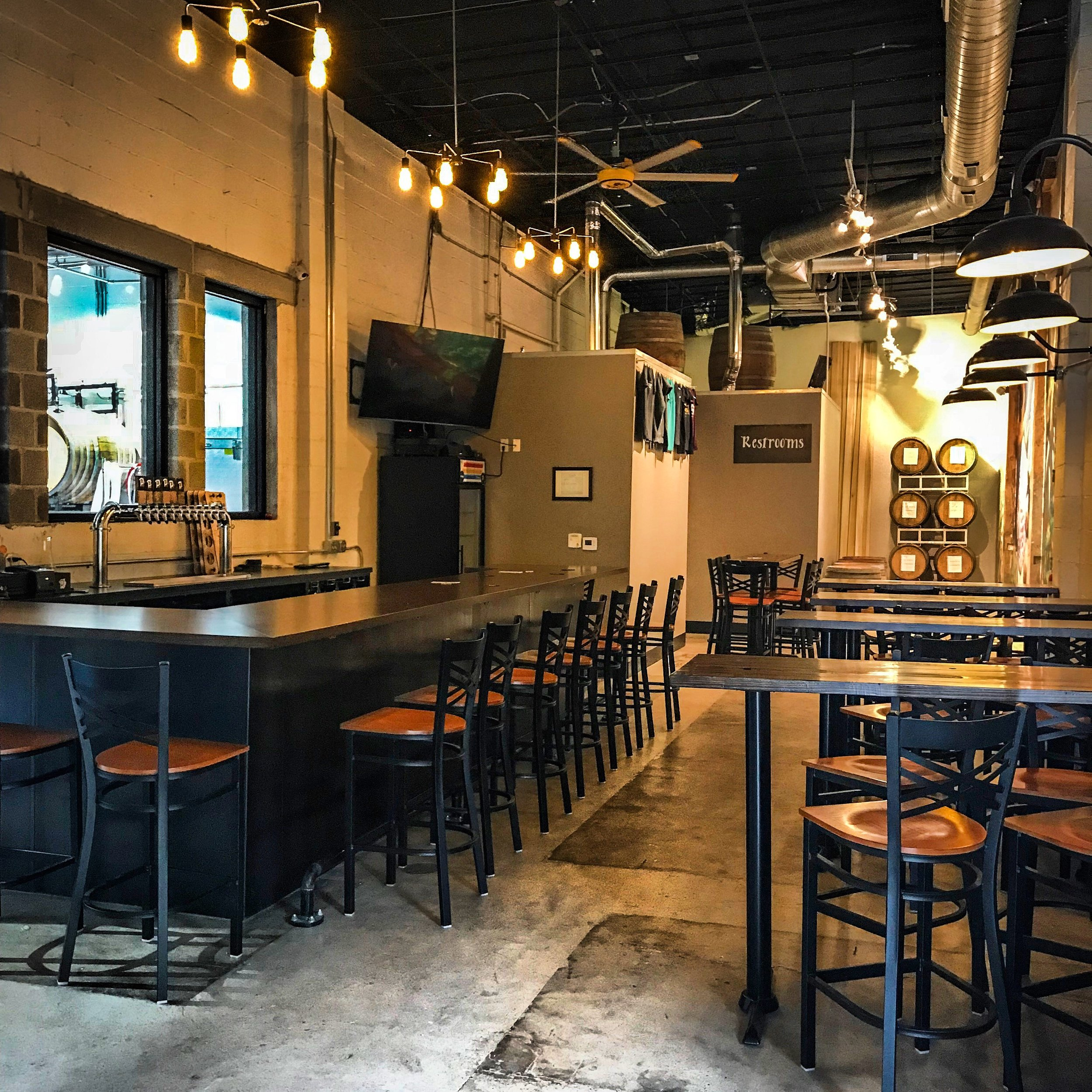 Taproom Bar Seating