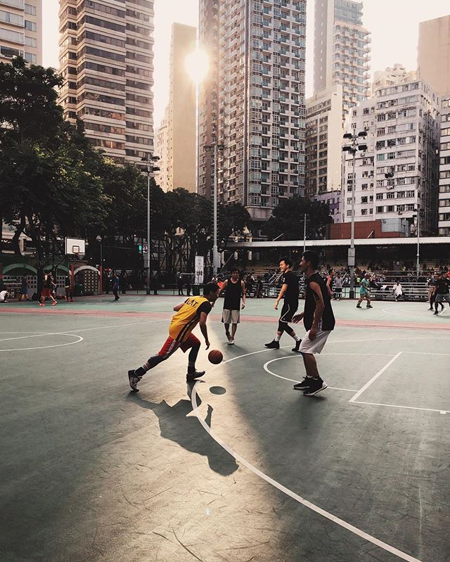 Wan Chai neighbourhood.  #hongkong  #wanchai #basketball