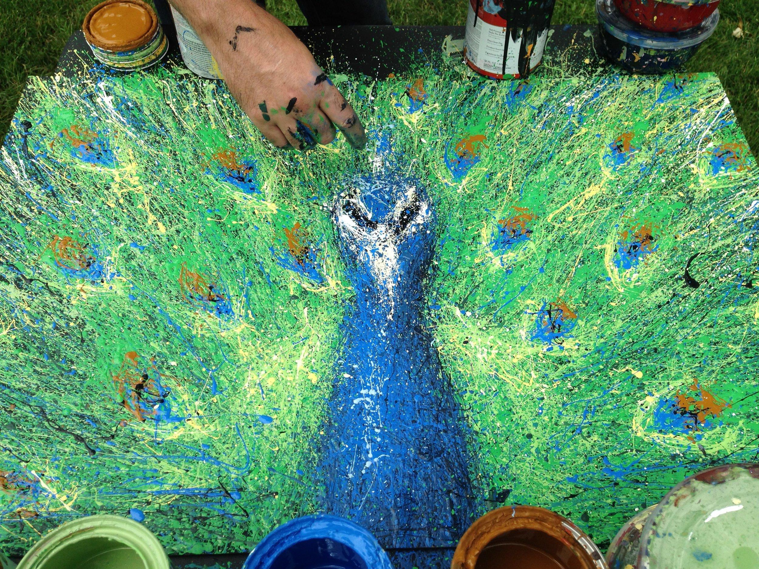 Peacock Demo
