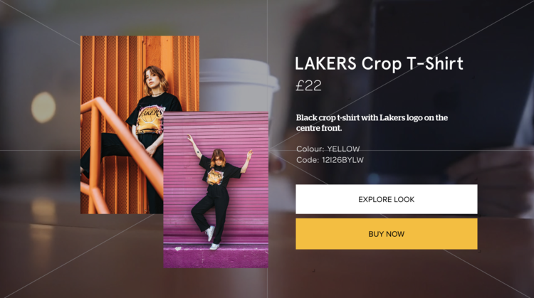 Stunning interactive product overlays allow your viewers to make purchase decisions right from your video.