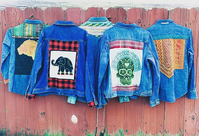 Excited to be a part of @dearhandmadelife Patchwork Show Long Beach on Sunday, Nov. 17! We have lots of new designs: one-of-a-kind denim jackets for kids and adults, new gemstone jewelry, so much more! Plus, tons of other local makers, artists, vendors and friends will be there too! Come out and support this Modern Makers Festival. #PatchworkShow ✨❤️🙏🏽
