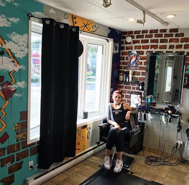 """NOT JUST BRICKS"" - Retail Store MuralUptown Waterloo"
