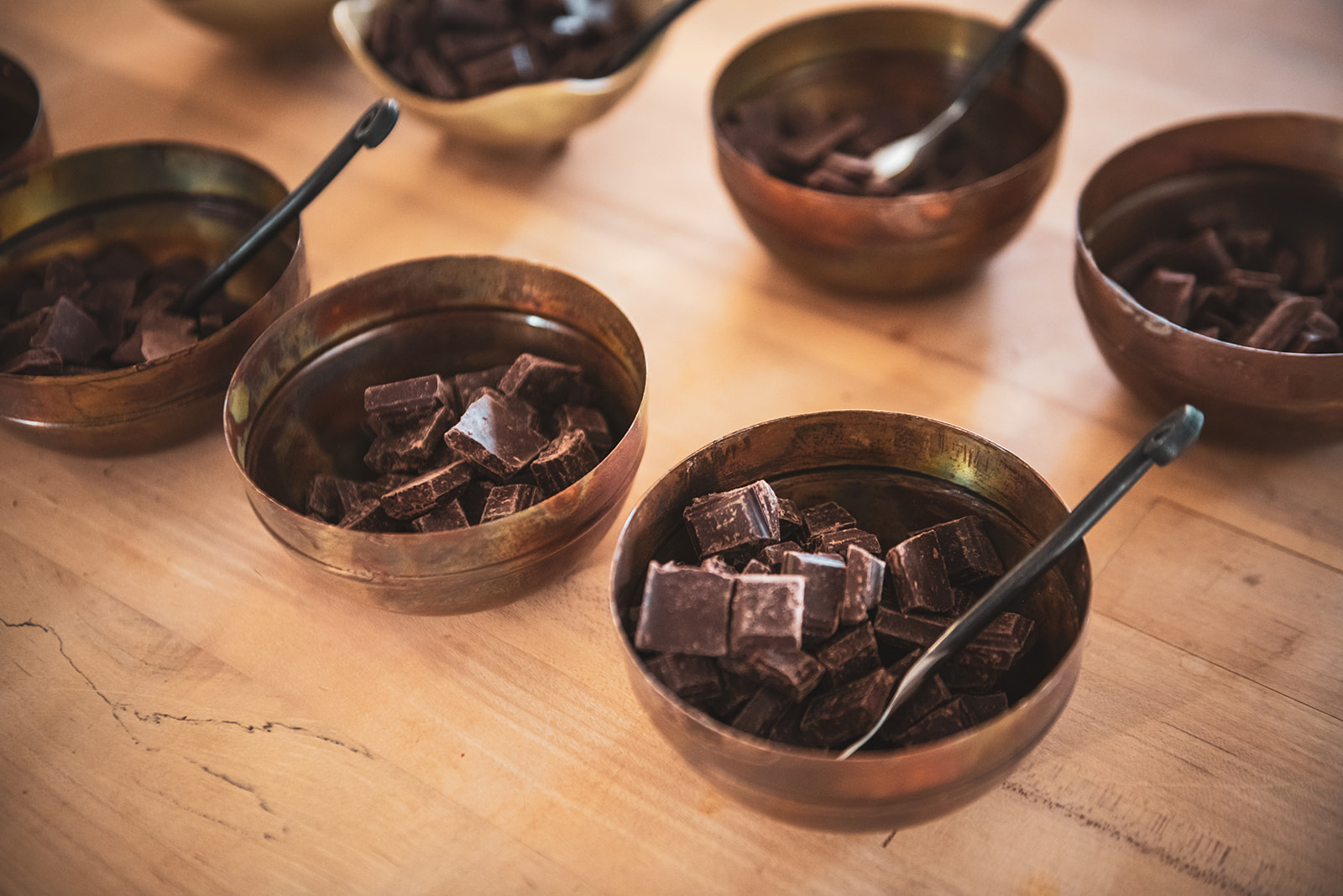 All chocolate is sourced from local companies -