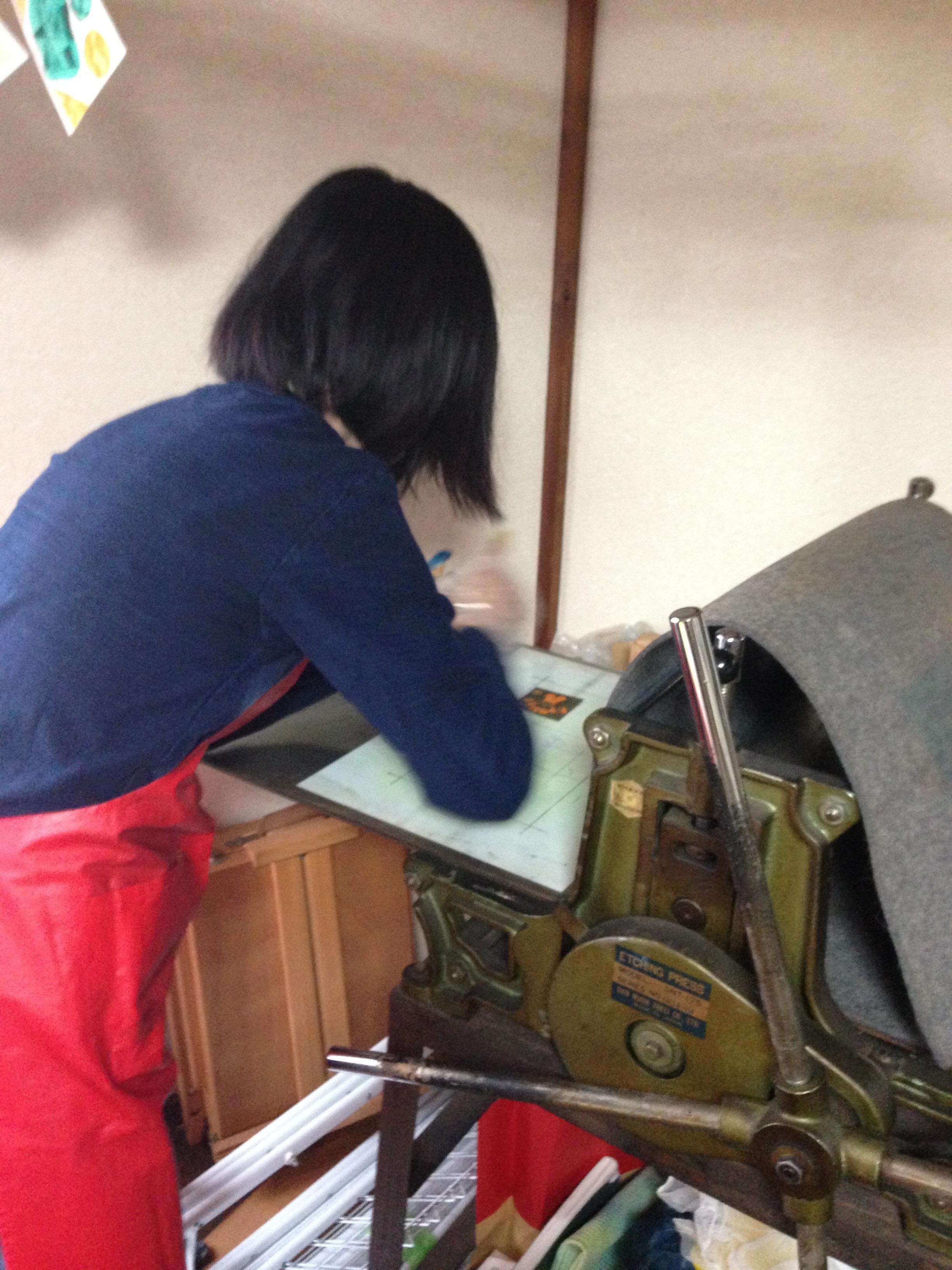 Dry Point Workshop 4