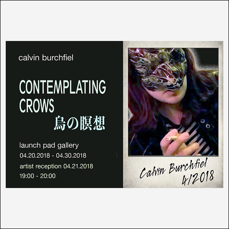CALVIN BURCHFIEL  04.20.2018
