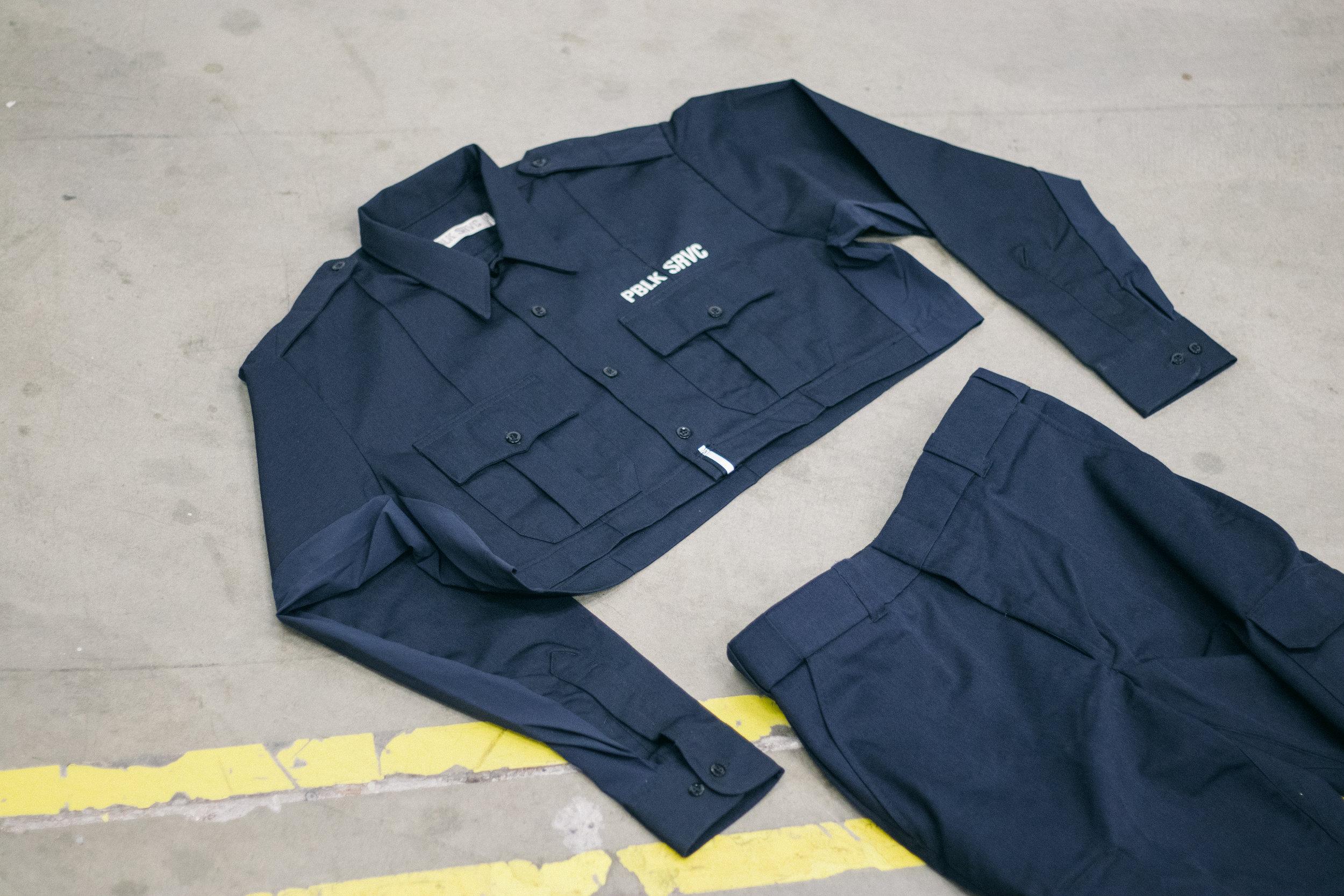 Service Cargo Pant and Service Uniform shirt at  Toolbox LA .