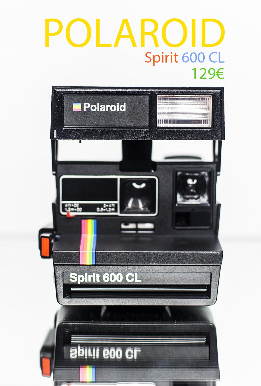 Polaroid Spirit 600CL.