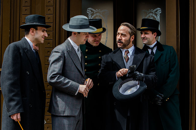 Jeremy Piven in Mr. Selfridge season 4. ITV Studios.