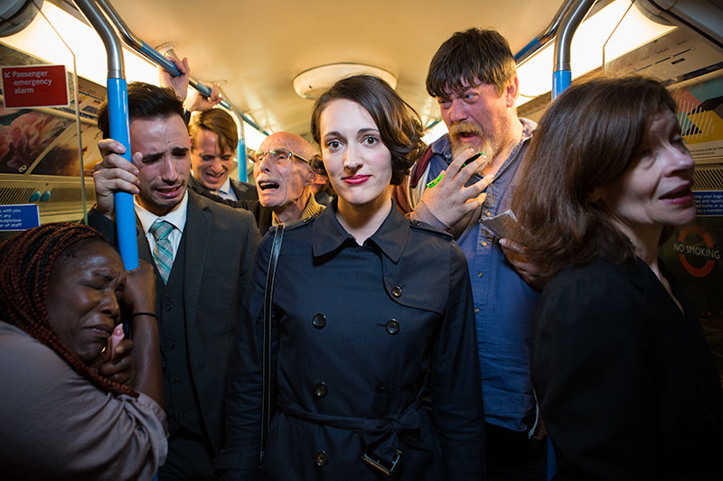 Copy of Publicity shot for Fleabag, written by and starring Phoebe Waller-Bridge.