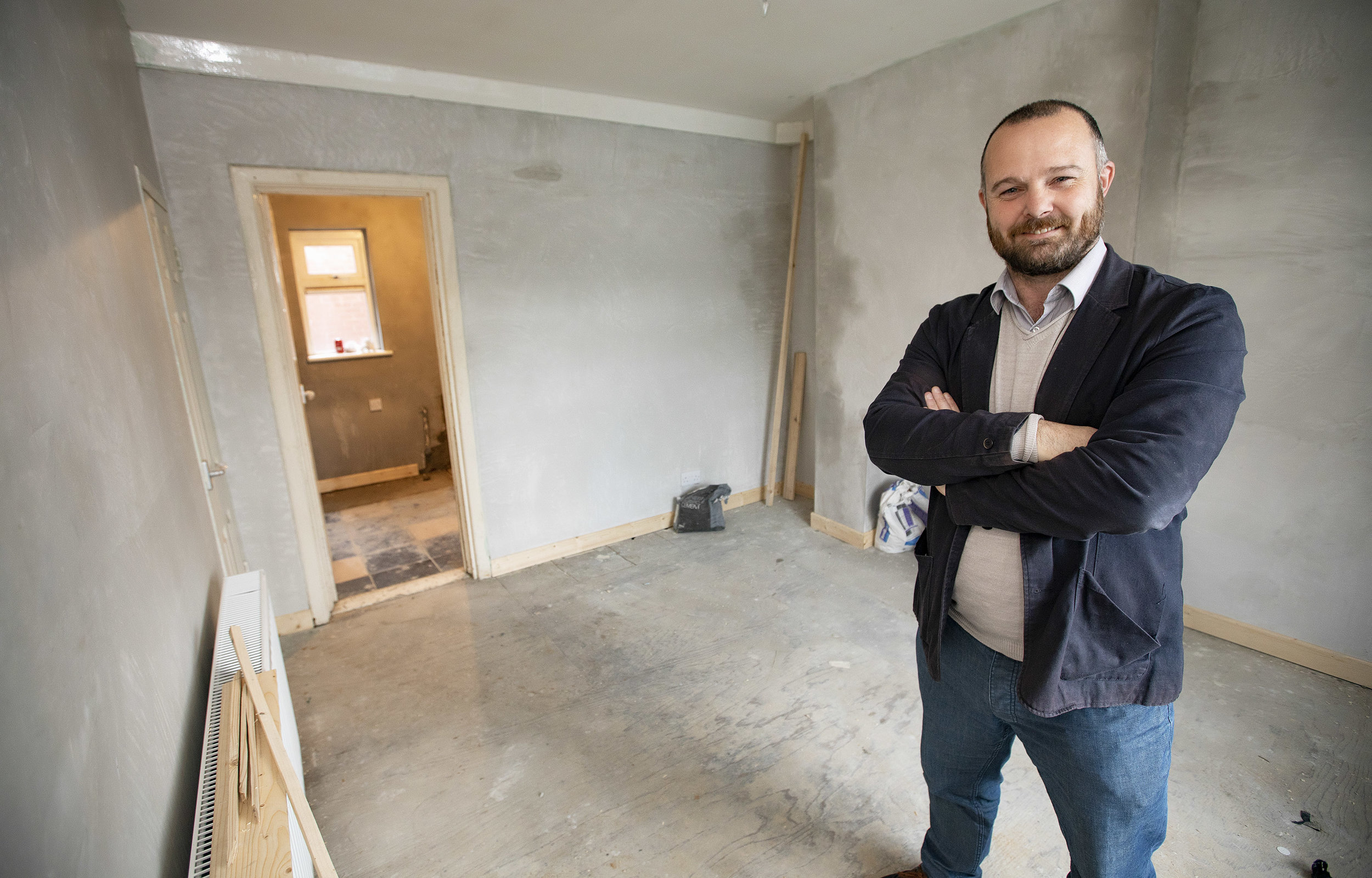 Declan Morris in a new Extern Home