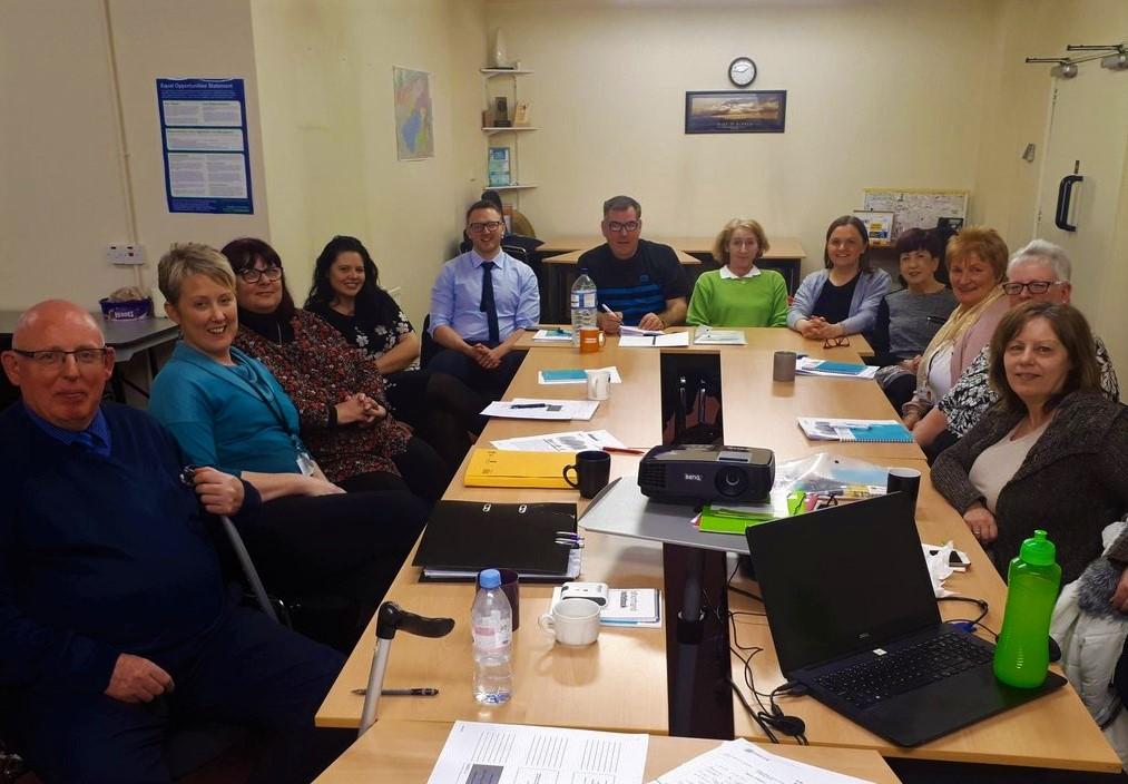 Staff and Residents of Habinteg Housing Association (Ulster) Ltd.
