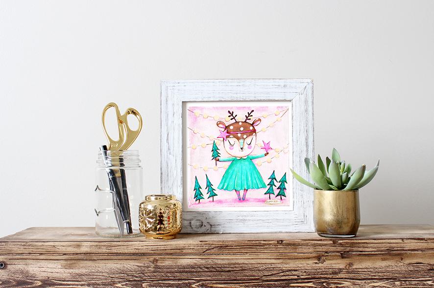 deer print framed.jpg