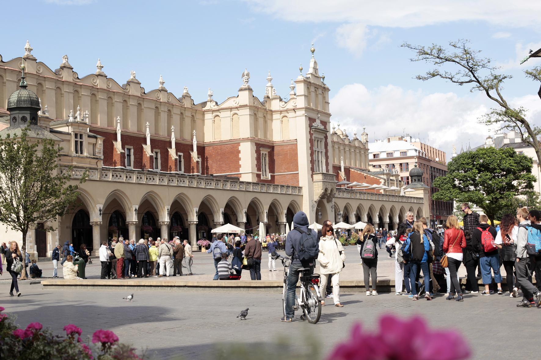 Krakow, Poland, main sqare (rynek)