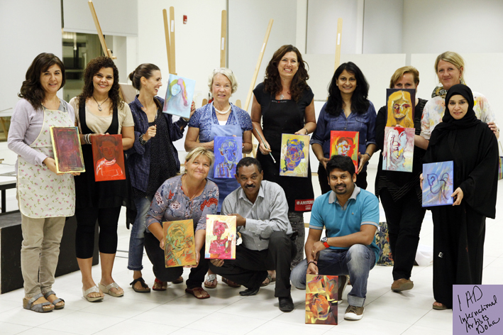 International Artist Doha Artogether meeting
