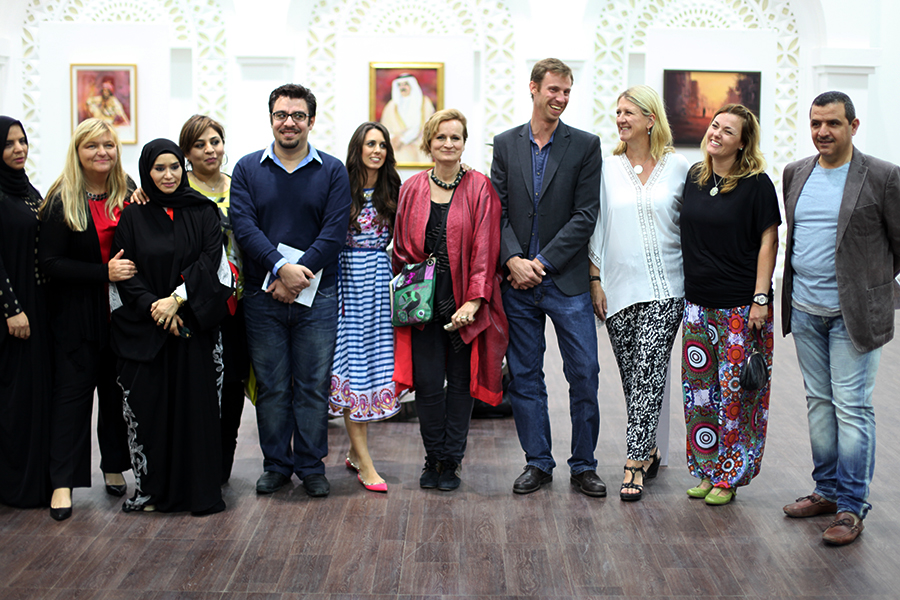 International Artists Doha Summer exhibition 2015