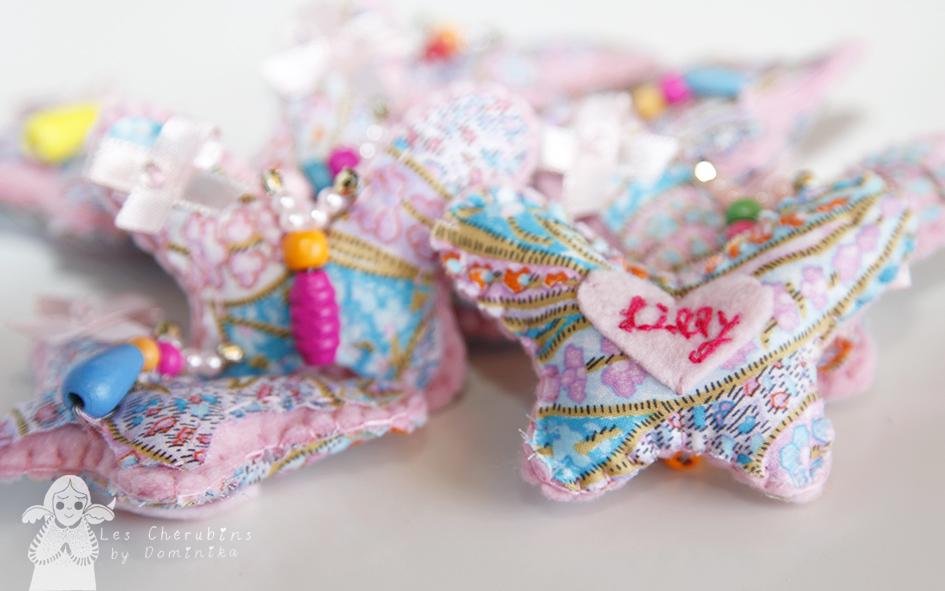 handmade butterflies home decor by Dominika Bozic