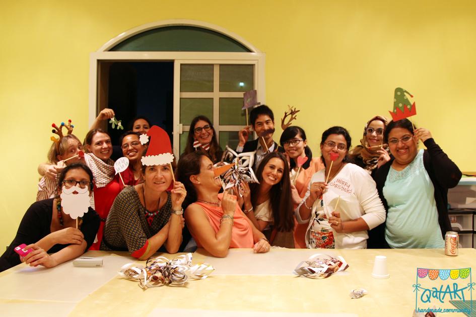 QatART party 2013 QatART members