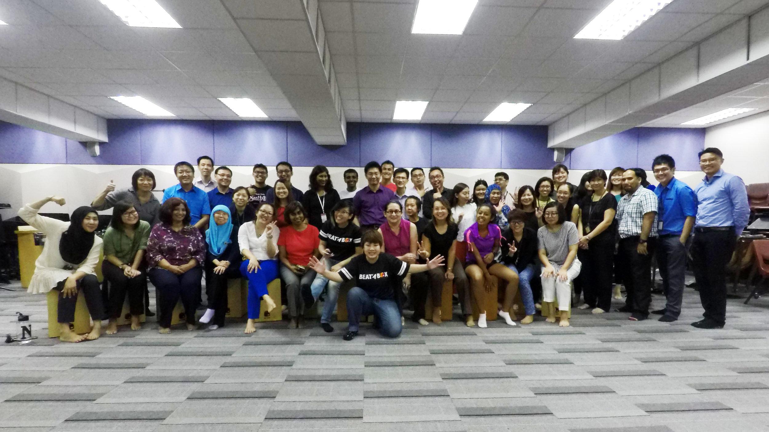 Ang Mo Kio Secondary School Staff Teambuilding