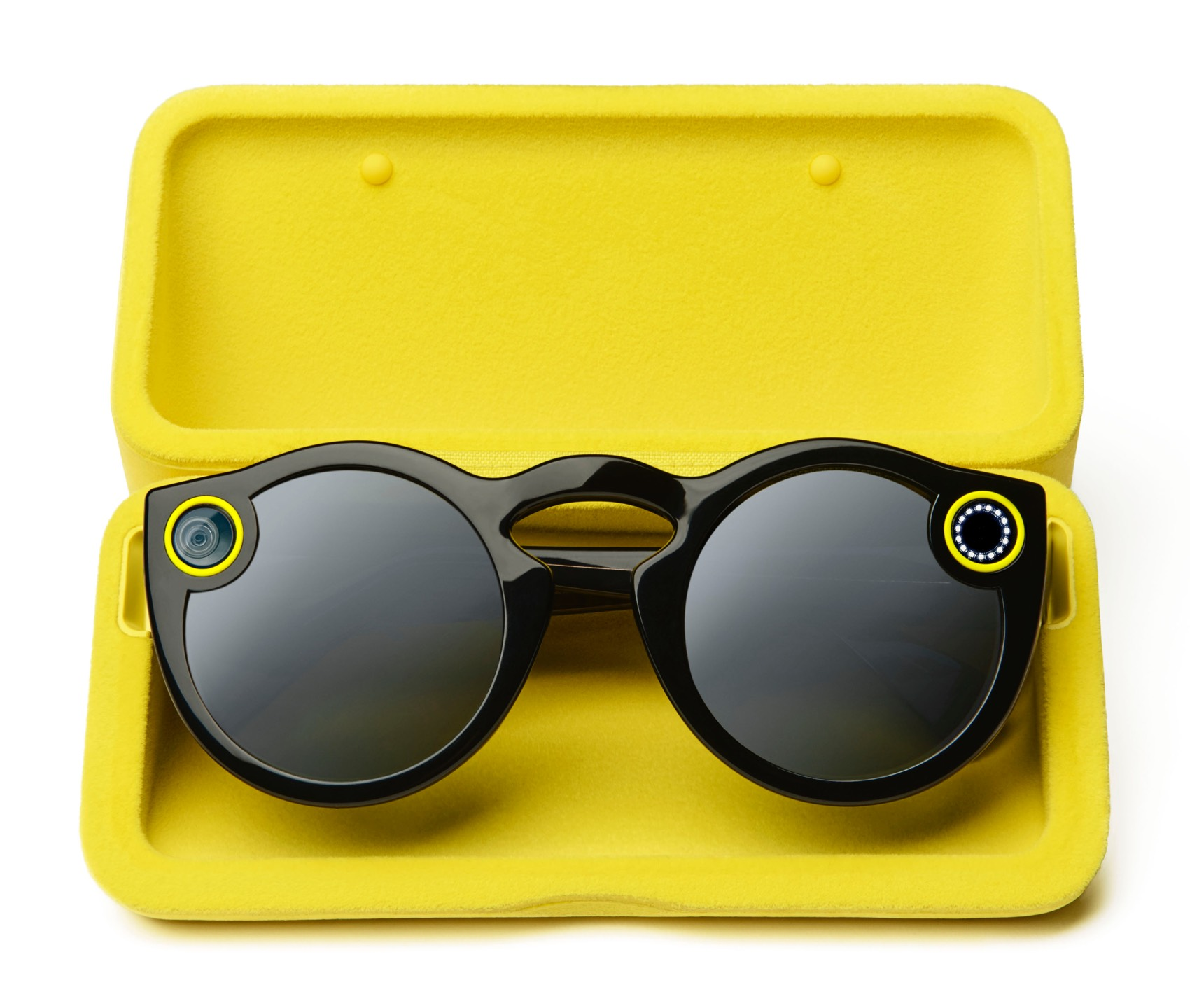 Snap Sunglasses - Today we are finding that Snapchat multimedia in the form of photos and video clips are being held in a third location that can be easily overlooked! Have you heard of Snap Spectacles? Well if you haven't, they look like any regular sunglasses but can hold up to 4 GB in storage, up to 150 videos or 3,000 photos.