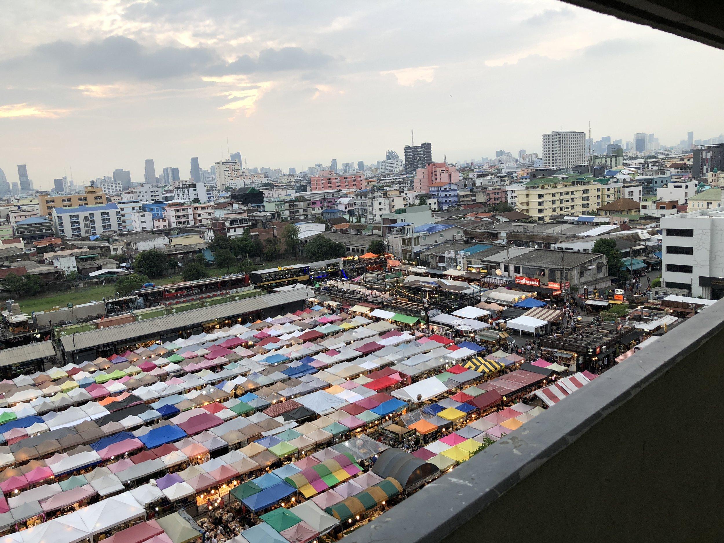Bangkok's Night Train Market