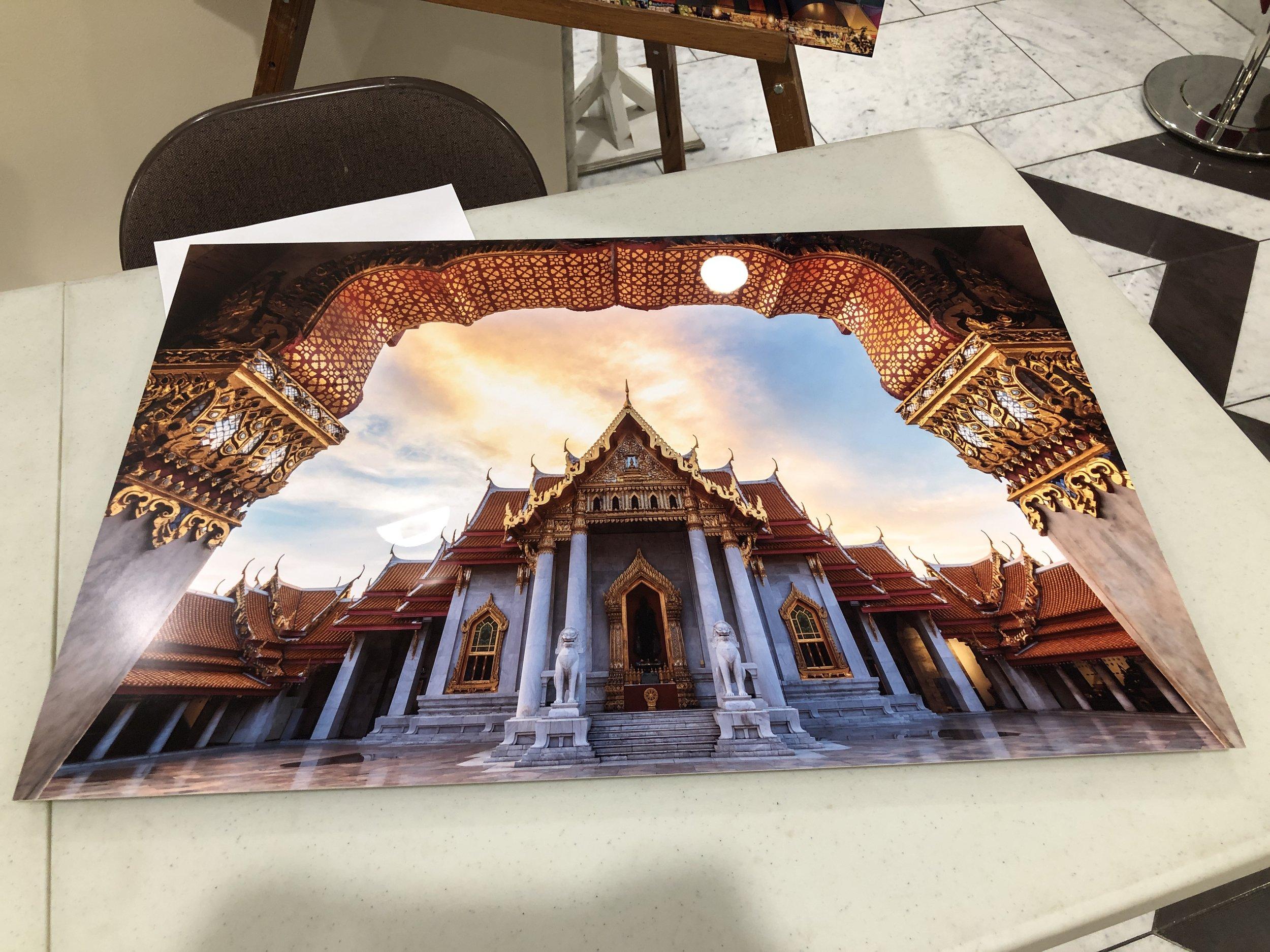 20x30 Metal Print