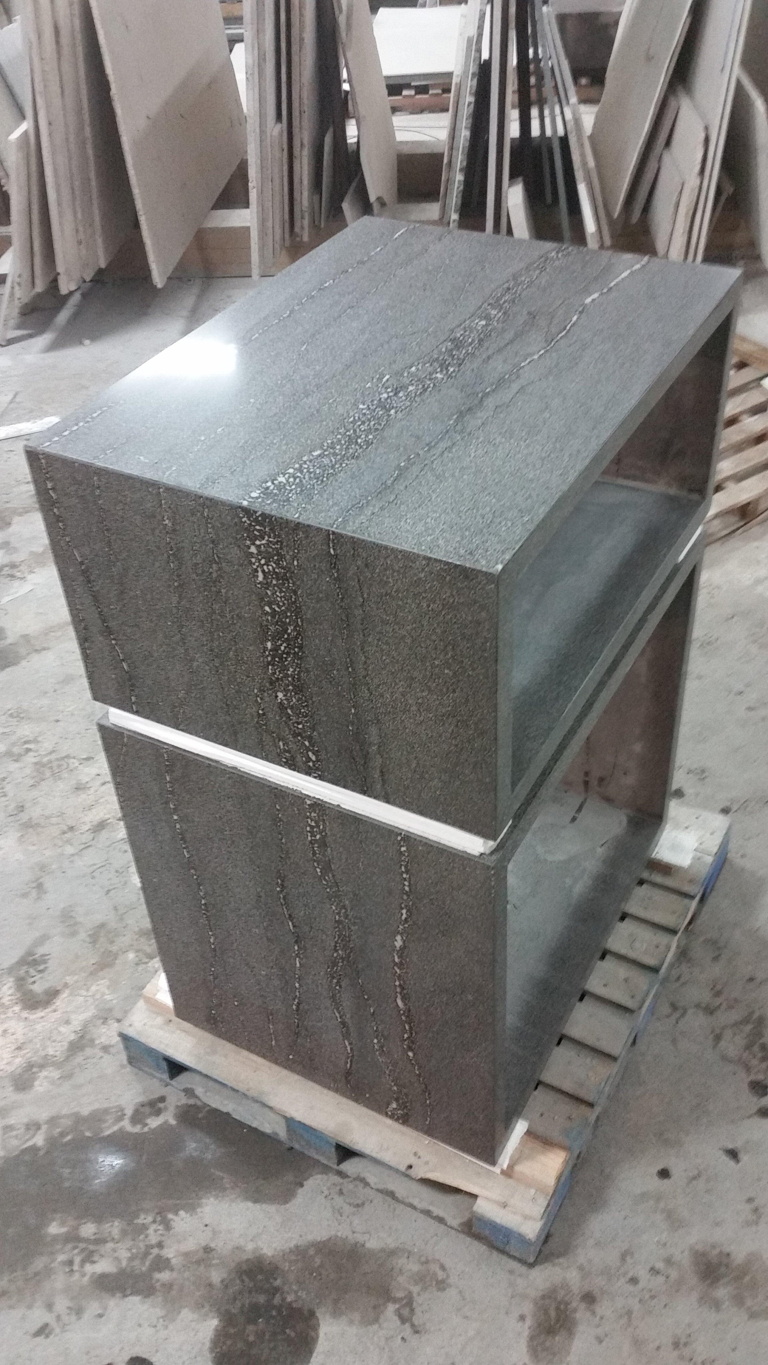 Custom Stone Cabinents