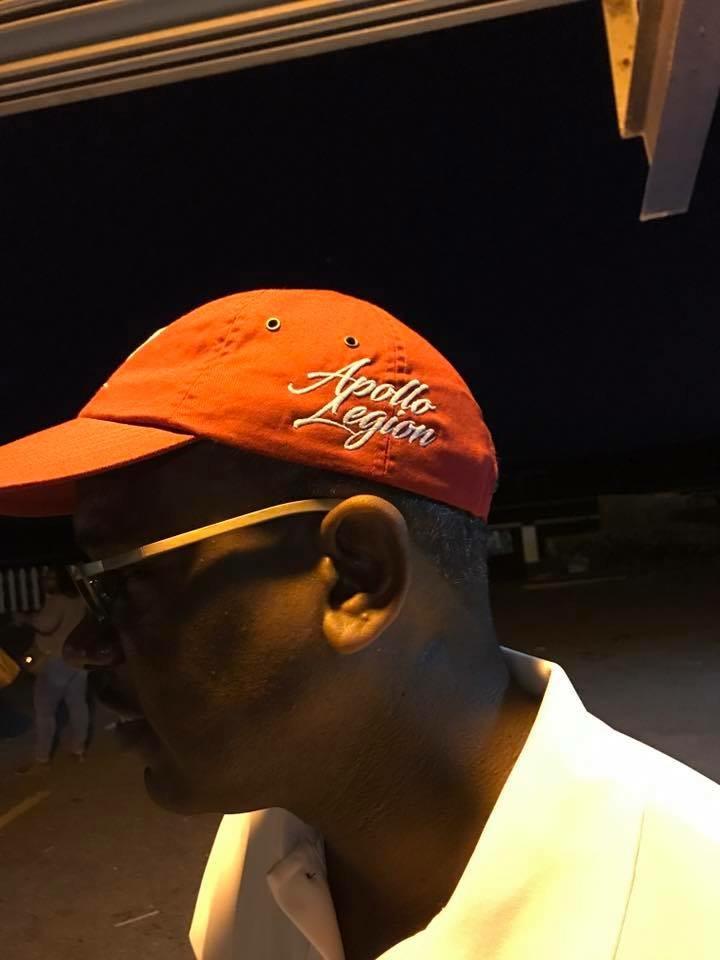 Albert Bryan Jr. rocking the dad hat!!