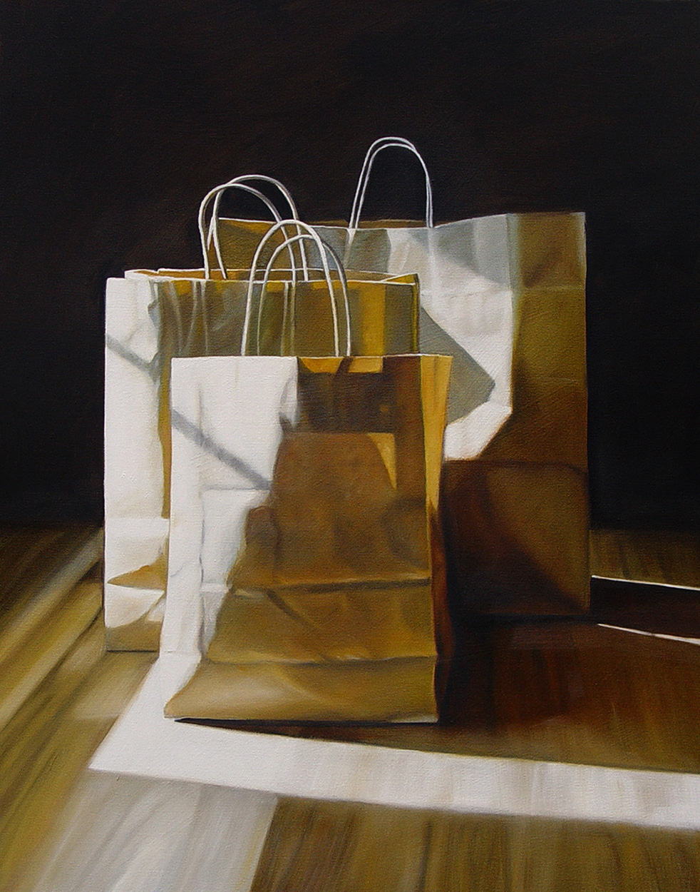 Three Bags  |  22 x 28  |  Oil on canvas