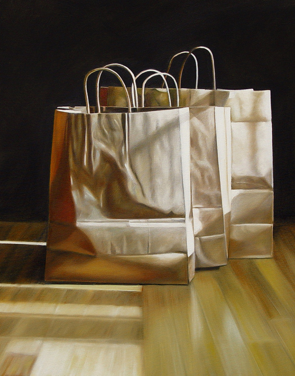Three Bags No. 2  |  22 x 28  |  Oil on canvas