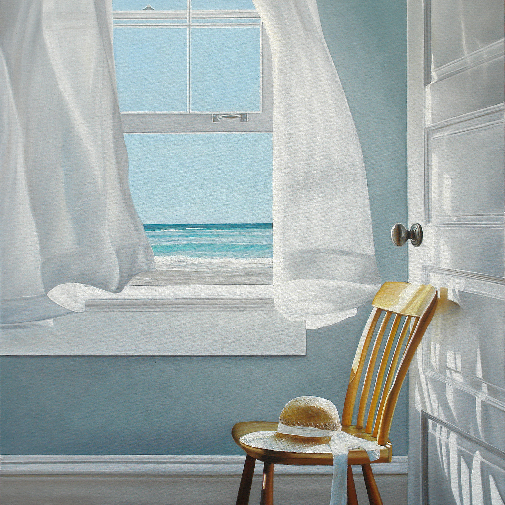 Dreaming of Summer | 30 x 30 | Oil on canvas