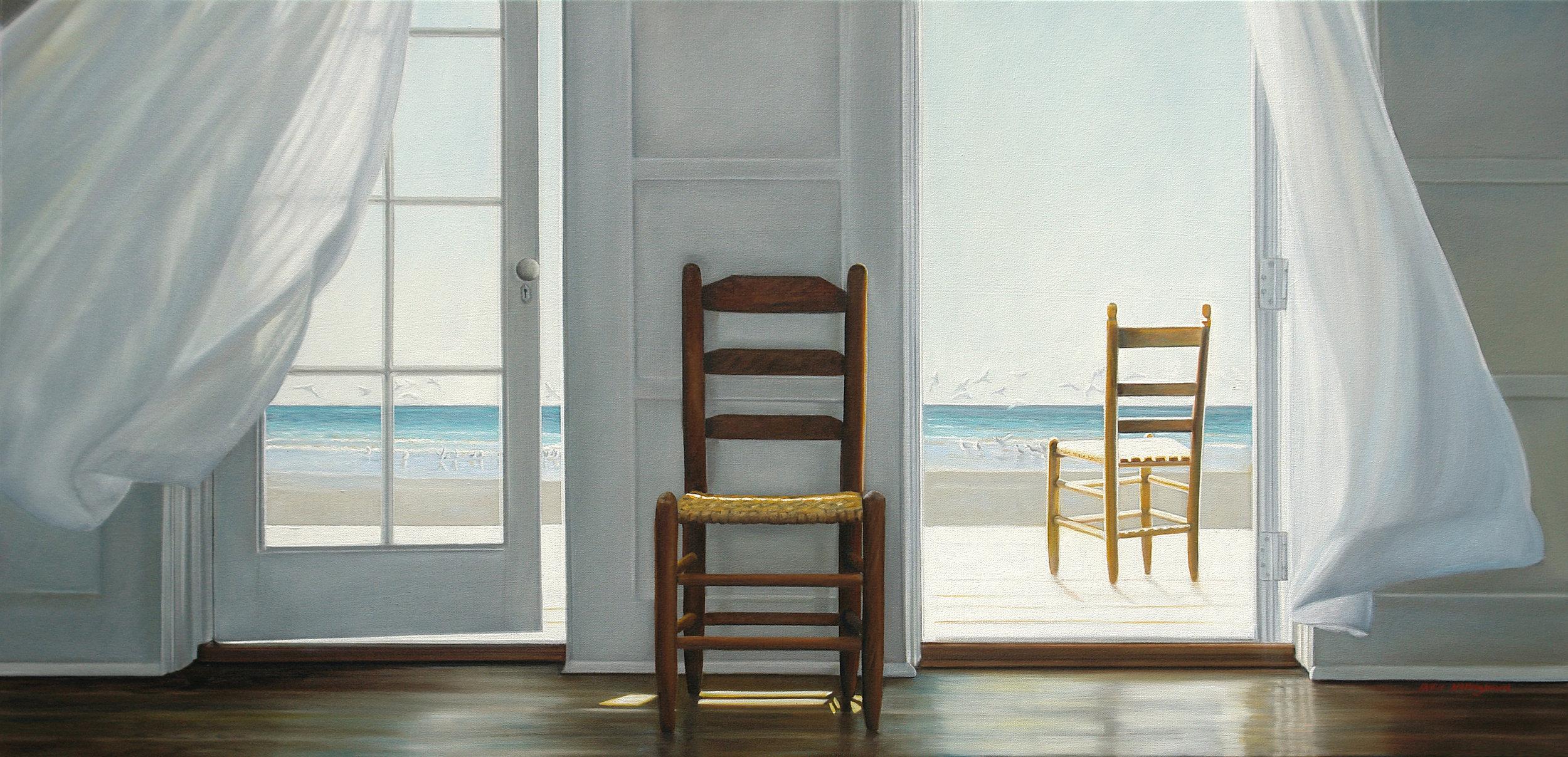 Drifting | 24 x 48 | Oil on canvas