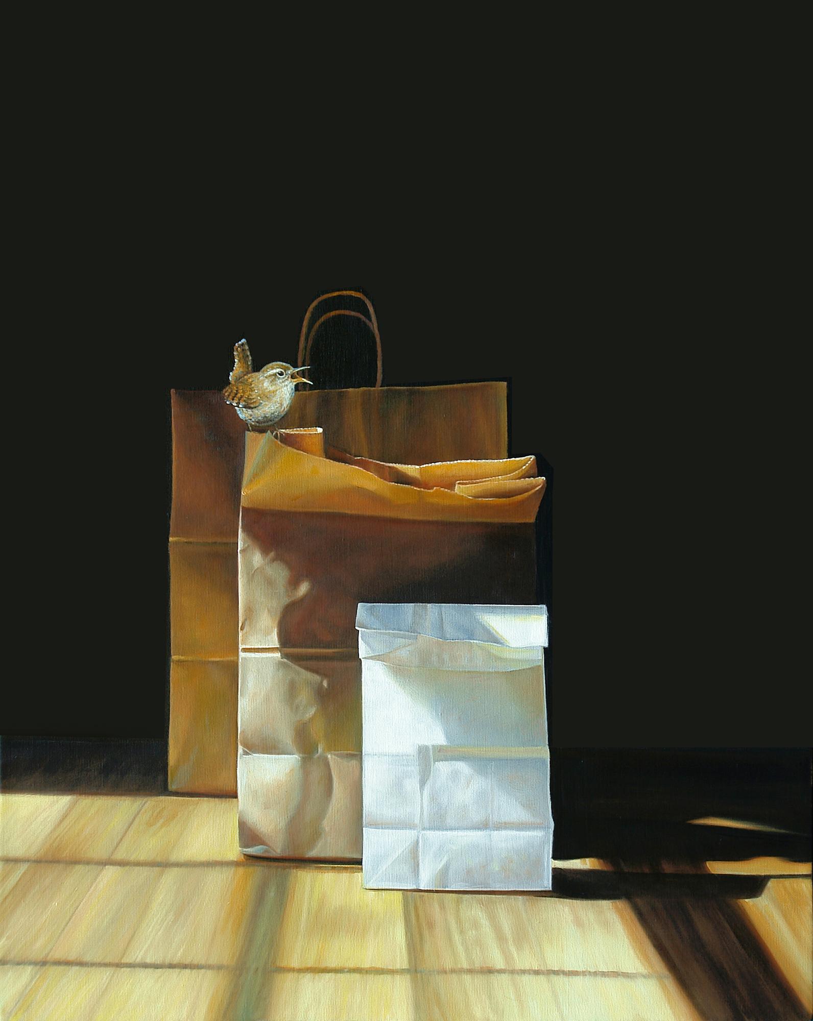 Perch No. 3 | 24 x 30 | Oil on canvas