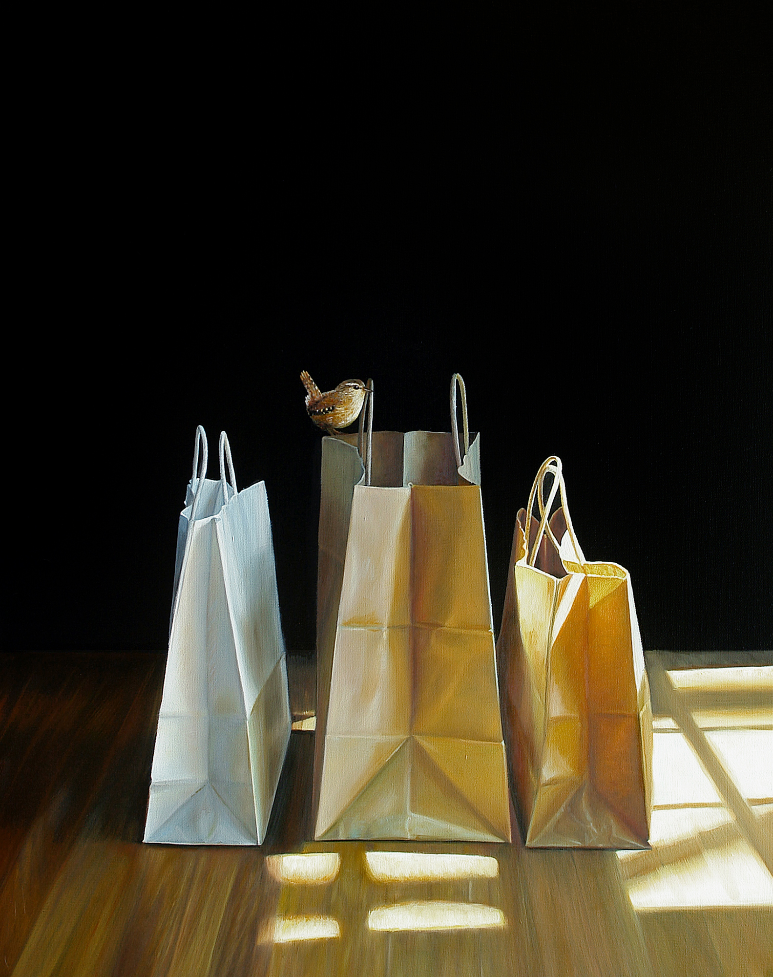 Perch | 24 x 30 | Oil on canvas