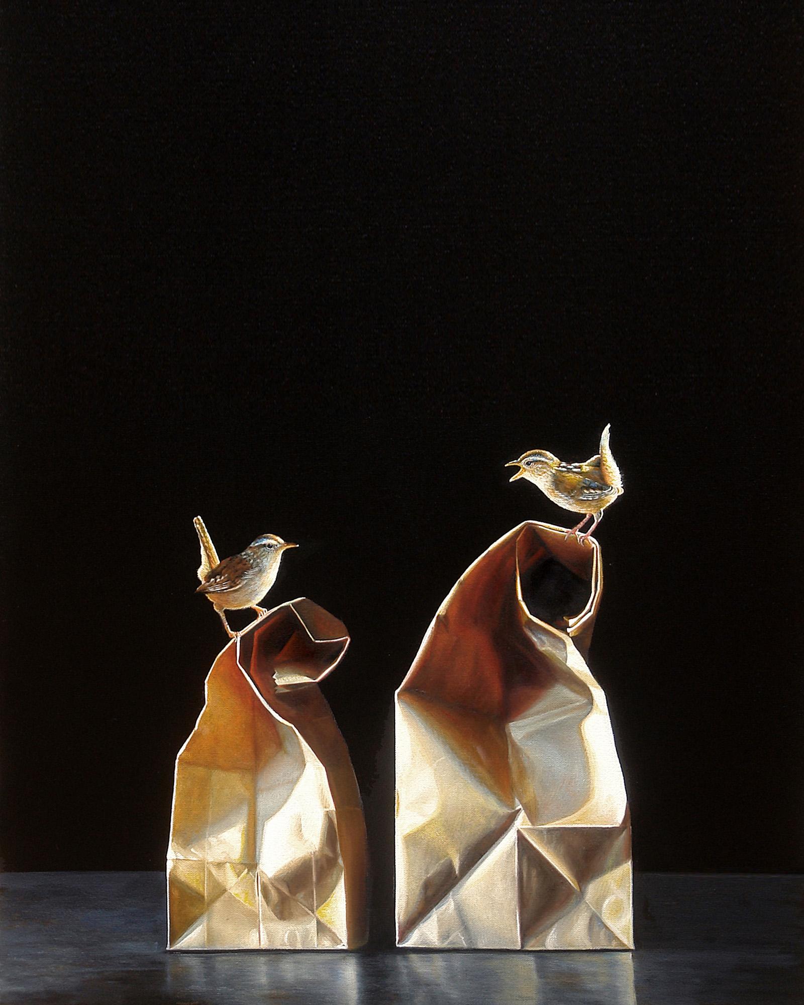 Perch No. 12 | 24 x 30 | Oil on canvas