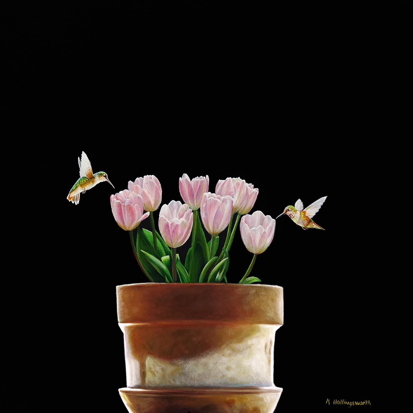 Nectar | 20 x 20 | Oil on canvas