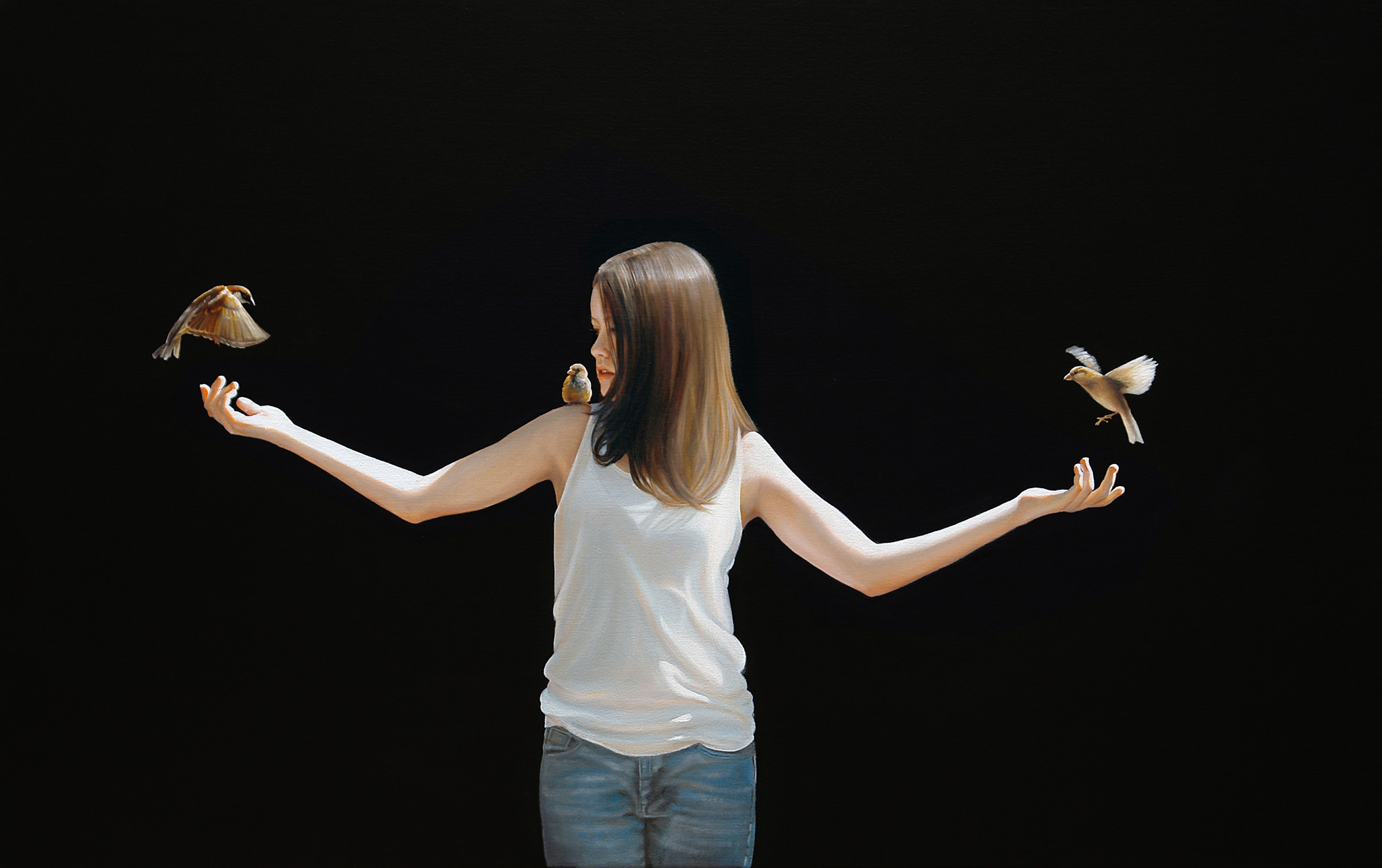 Wingspan  |  30 x 48  |  Oil on canvas