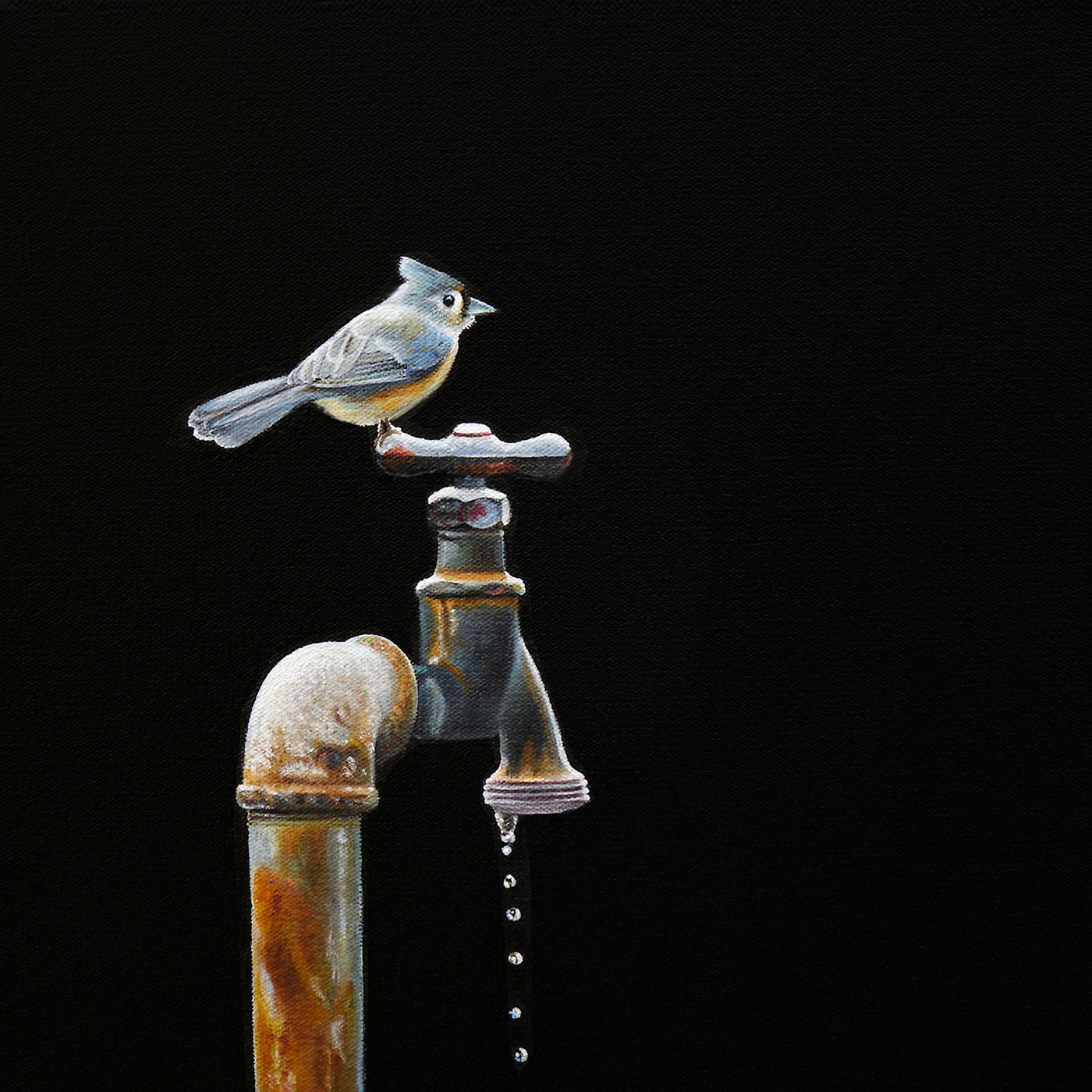 Spigot No. 1  |  12 x 12  |  Oil on canvas