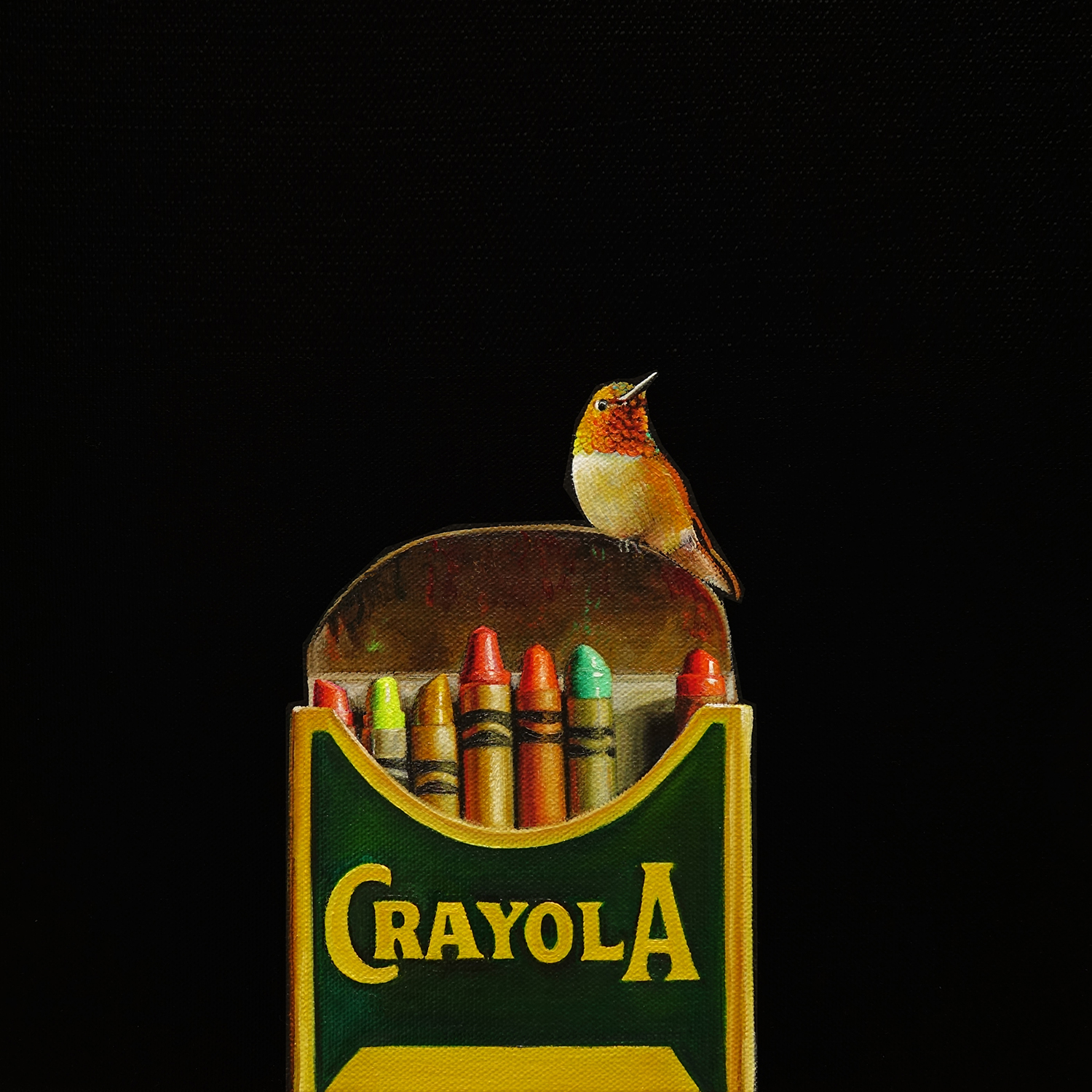 Crayola No. 1    |    12 x 12    |    Oil on canvas