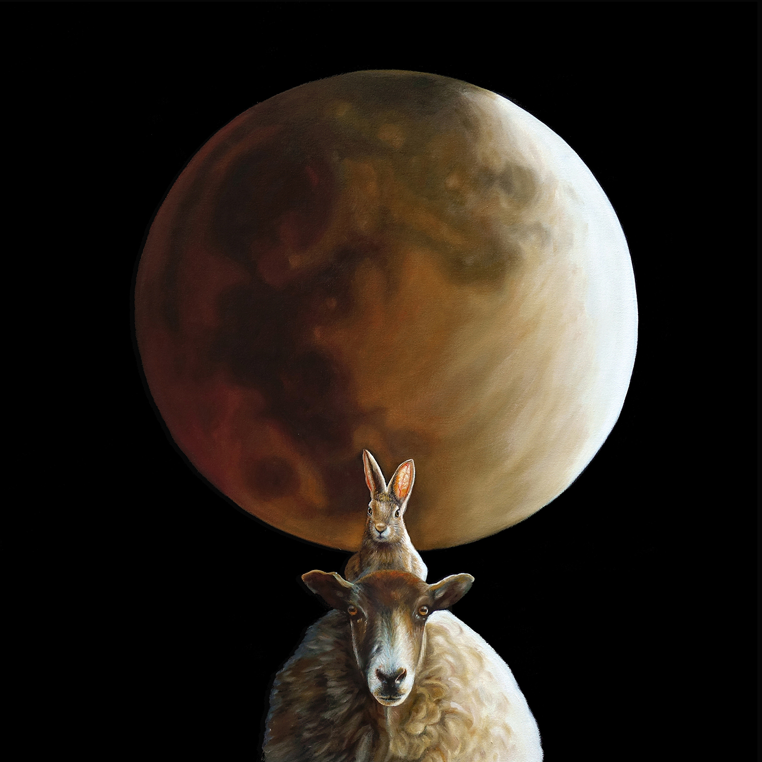Moon Crossing    |   30 x 30    |   Oil on canvas