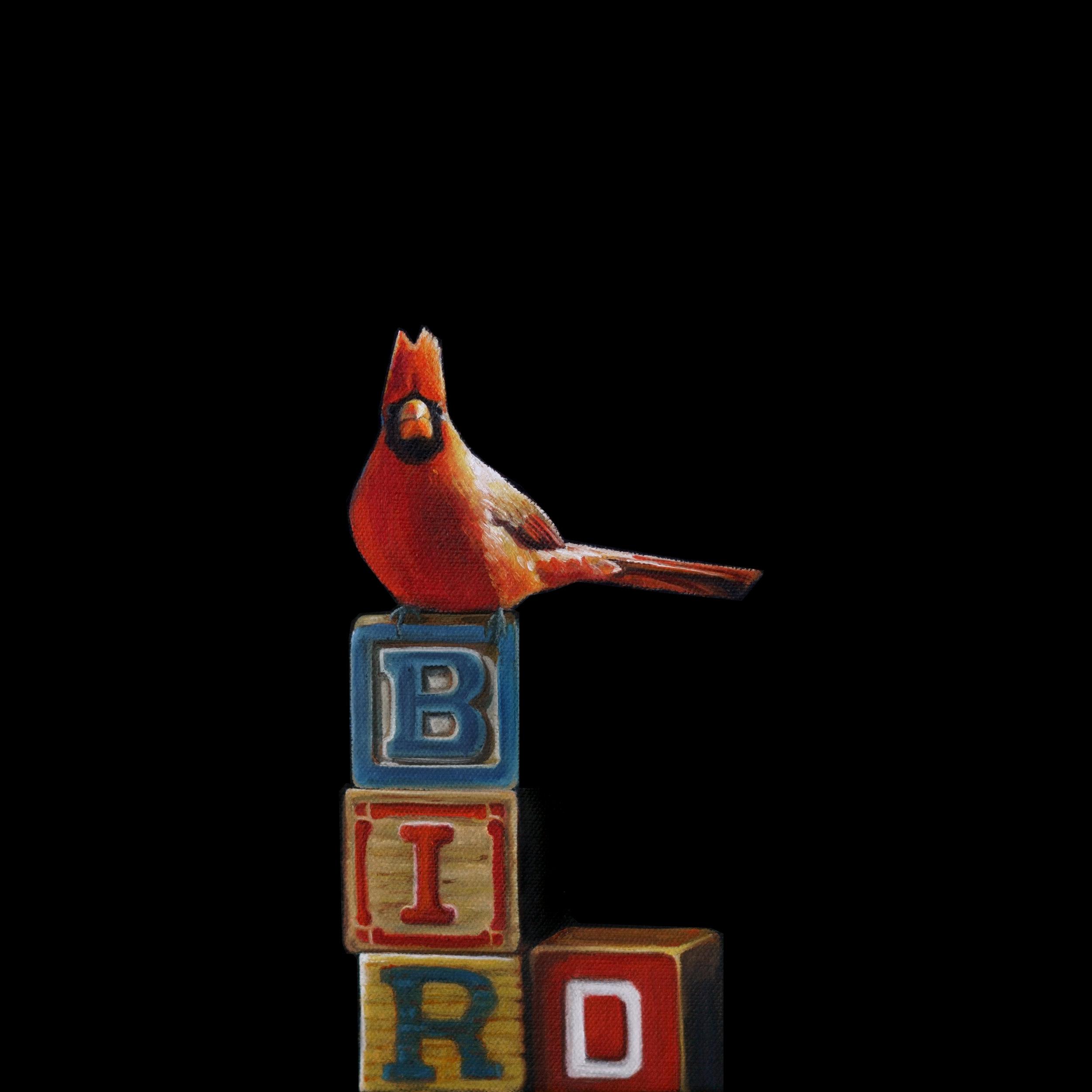 BIRD | 12 x 12 | Oil on canvas