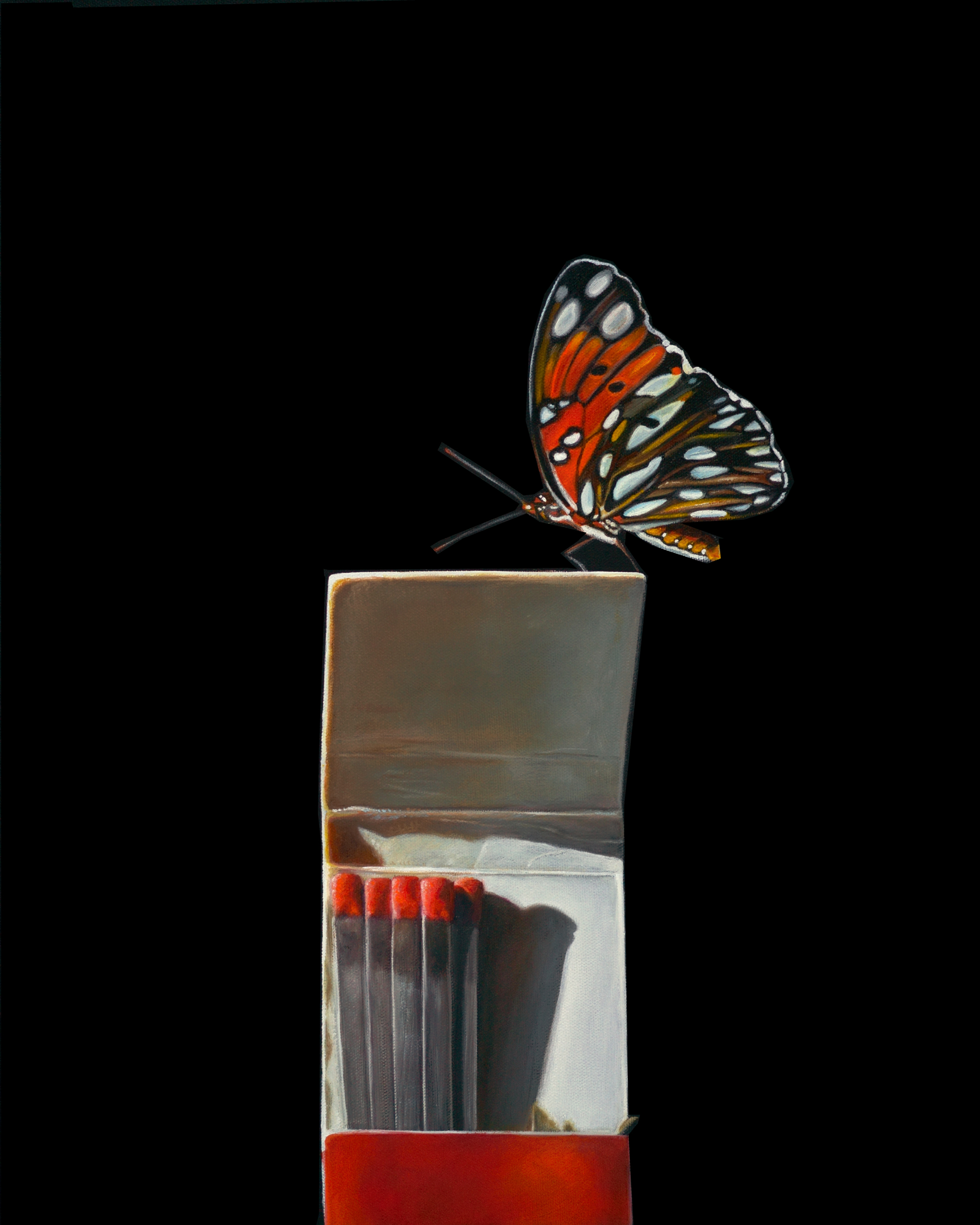 Striking | 16 x 20 | Oil on canvas